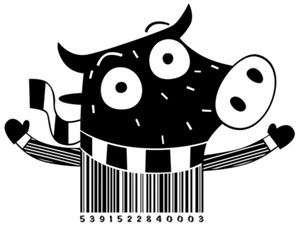 Creative barcode design by Steve Simpson